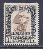 Libya, Scott # 47 Mint Hinged Roman Legionary, 1924, Small Thin - Libya