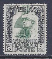 Libya, Scott # 49 Mint Hinged Roman Legionary, 1924 - Libya
