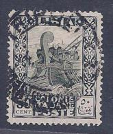 Libya, Scott # 55 Used Ancient Galley, 1924 - Libya