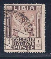 """Libya, Scott # 58 Used """"Victory"""", 1924 - Libya"""