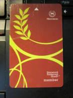 Hotel Key Card,Sheraton Starwood Preferred Guest Member - Tarjetas Telefónicas