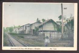 EC6) Ecuador -  Ferrocarril Del Sur - El Milagro - 1910 - Ecuador