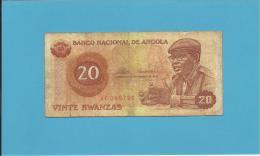 ANGOLA - 20 KWANZAS - 11.11.1976 - P 109 - CAMARADA DR. AGOSTINHO NETO - Angola