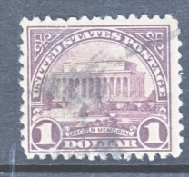 U.S. 571  (o)    1922-25 Issue Perf 11 - United States