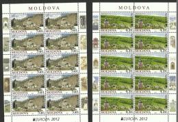 Moldova 2012 / Europa CEPT / Set 2 MS - 2012