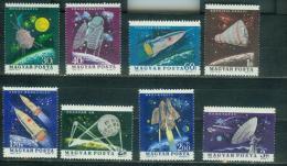 Hungary 1964 Mi 1991A-1998A MNH - Space