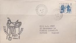 Canada 1964 Stamp Exhibition Cover Sent To Australia - 1952-.... Règne D'Elizabeth II