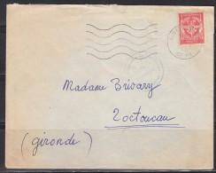 = Timbre Franchise Militaire Sur Lettre 29.3.62 Origine Régiment D'instruction Des Transmissions Mont Valérien - Franchise Stamps