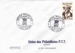 Pont-Audemer 27 - BT 1983 Amicale Philatélique - Blason Tours Pont - Marcophilie (Lettres)