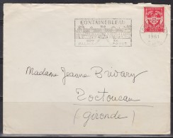 = Timbre Franchise Militaire Sur Lettre 5.10.61 Origine Régiment D'instruction Camp De Frileuse, - Franchise Stamps