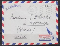 = Enveloppe Franchise Militaire Poste Aux Armées A.F.N. 29.3.1960 - Storia Postale