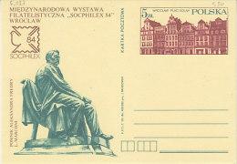 P-Warschau 1984. Karte SOCPHILEX (5.127) - 1944-.... Republik