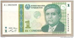 Tagikistan - Banconota Non Circolata Da 1 Somoni - 1999 - Tagikistan