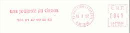 EMA SECAP Type NL Avec Publicité Thème Cirque - Marcophilie (Lettres)