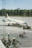 CARTE POSTALE RUSSIE # AVION TURBOJET # THE TU-104 - 1946-....: Moderne
