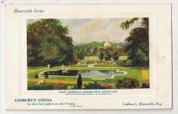 Cadbury´s Cocoa Bournville Series - Girls Recreation Grounds With Italian Lake - Birmingham