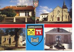 Vendée COMMEQUIERS Multivues Mairie églises Vues Diverses Maisons Bourg N°1678 Dubray - Sonstige Gemeinden