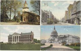 Mooi Lot USA  50 Kaarten. - Cartes Postales