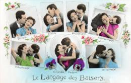 (45)  Le Langage Des Baisers - Fancy Cards