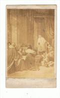 Photo  Cartonnée  Religieuse     1870 - Photos