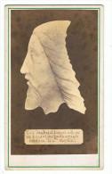 Photo  Cartonnée  Religieuse     Tête Du Christ Trouvée à Rome - Photos