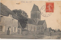 CPA 50 GORGES Eglise 1907 - France