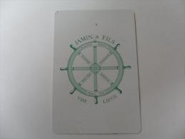 ANCIEN CALENDRIER DE POCHE  1967 / PUB  ASSURANCES JAMIN - VISE - Calendriers