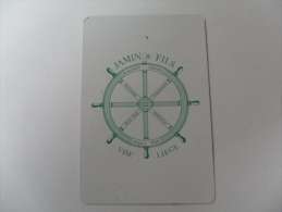 ANCIEN CALENDRIER DE POCHE  1967 / PUB  ASSURANCES JAMIN - VISE - Petit Format : 1961-70
