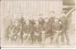 Carte Photo  Militaire No 106 Sur Le Col - Guerre 1914-18