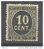 ES237-L3382.España .Spain  .Espagne. Cifras.Alfonso Xlll.  (Ed  237) Sin Goma.MAGNIFICO - Nuevos