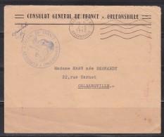 Consulat Général De France à Orléansville 2.5.1963 Orléansville R.P. Département Français D'Algérie (Chlef) - Algérie (1924-1962)