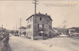 69 - Virage De La Fourche Aux Sept-Chemins (cafe Restaurant Du Terminus - Hotel) - Autres