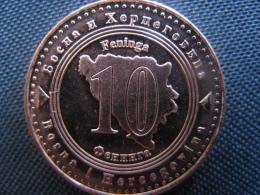 Coin 10 Feninga Bosnia And Hercegovina 2013, Unc - Bosnien-Herzegowina