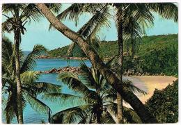 M869 Seychelles - La Digue Island / Viaggiata - Seychelles