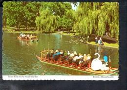 L788 Swan Boats In The Public Garden - Boston, Massachutts, USA _ Ed. Alan Klein - Barche