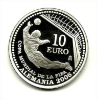 Spanje 10 Euro Silver 2003, WM 2006 - Zonder Classificatie