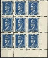 HR 1943-106 DEFINITIVE, CROATIA-HRVATSKA, 9 X 1w, MNH - Croatie