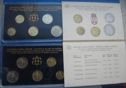 +Serbia , Official Mint Set Of The National Bank Of Serbia Coin Set  2012. - Serbia