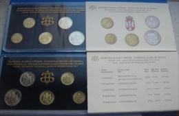 +Serbia , Official Mint Set Of The National Bank Of Serbia Coin Set  2011. - Serbia