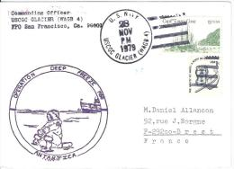 10030  OPERATION DEEP FREEZE - ANTARTICA - US GLACIER - 1979 - Timbres