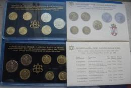 +Serbia , Official Mint Set Of The National Bank Of Serbia Coin Set  2009. - Serbien