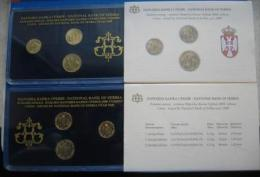 +Serbia , Official Mint Set Of The National Bank Of Serbia Coin Set  2008. - Serbien