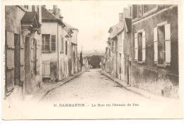 DAMMARTIN - La Rue Du Chemin De Fer - Other Municipalities