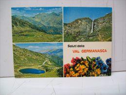 """Saluti Dalla Val Germanasca  TO  """"Piemonte""""  (Italia) - Italia"""