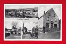 Ak Straßbessenbach, Bessenbach, Kaufhaus Scherf, Mehrbildkarte, Selten - Aschaffenburg