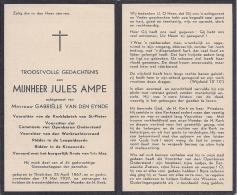 Jules AMPE - Décès