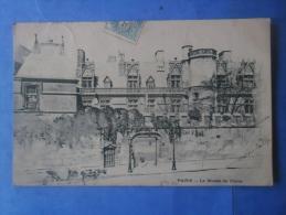 75-PARIS Le Musée De Cluny , Circulée En 1906 , Dos Non Divisé - Arrondissement: 05