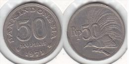 50 RUPIAH 1971 - Indonésie