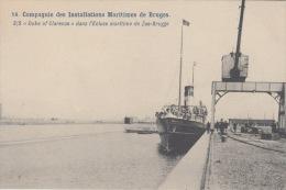 Zeebrugge    De S/s   Duke Of Clarence Dans L' Ecluse Maritime De Zeebrugge    Boot Schip        Scan 5547 - Zeebrugge