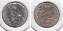 25 RUPIAH 1971 - Indonésie